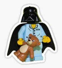 Sleepy Darth Vader Sticker
