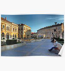 Sopron plaza Poster