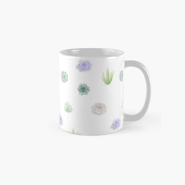 Small Succulents Classic Mug