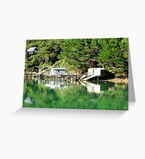 boatsheds Greeting Card
