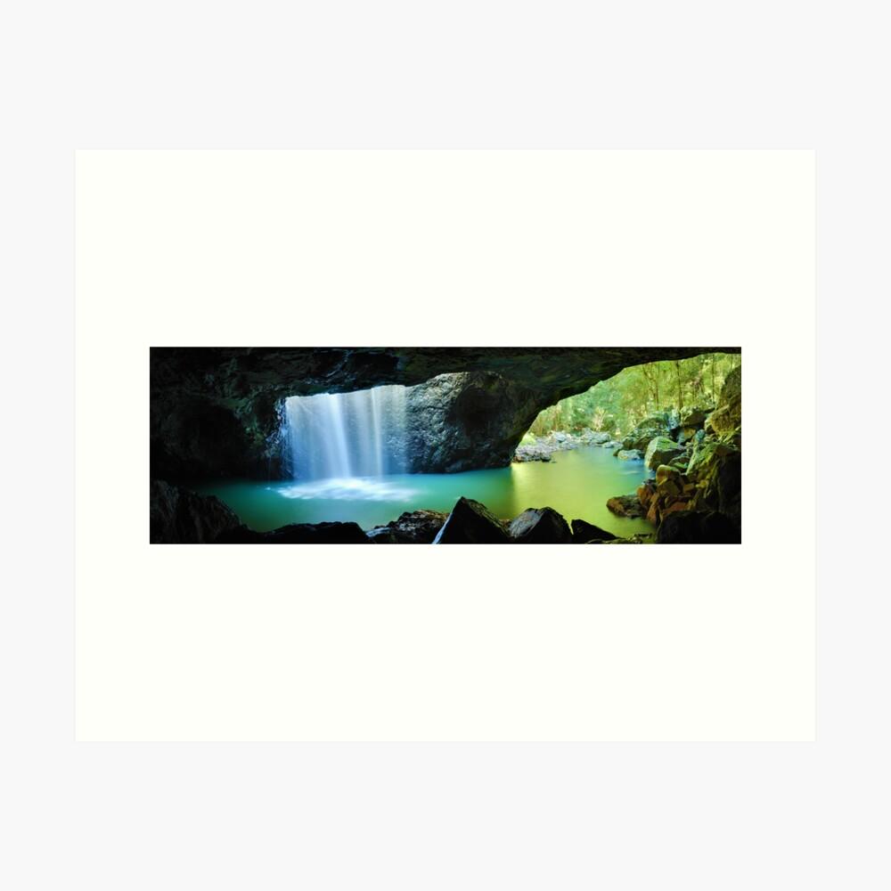 Natural Bridge, Springbrook National Park, Queensland, Australia Art Print