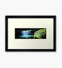 Natural Bridge, Springbrook National Park, Queensland, Australia Framed Print