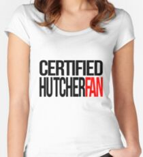 Certified Hutcherfan Women's Fitted Scoop T-Shirt