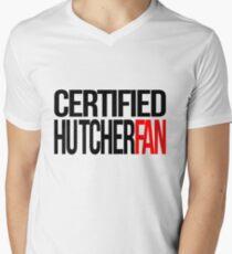 Certified Hutcherfan Men's V-Neck T-Shirt