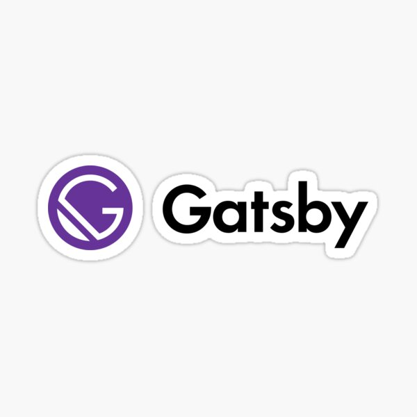 GatsbyJS - Fast in every way that matters Sticker