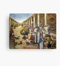 The Roman Cardo, Jewish Quarter, Jerusalem, Israel Canvas Print