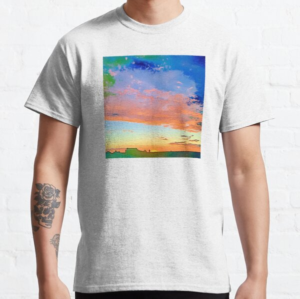 Sunset Over the City Classic T-Shirt