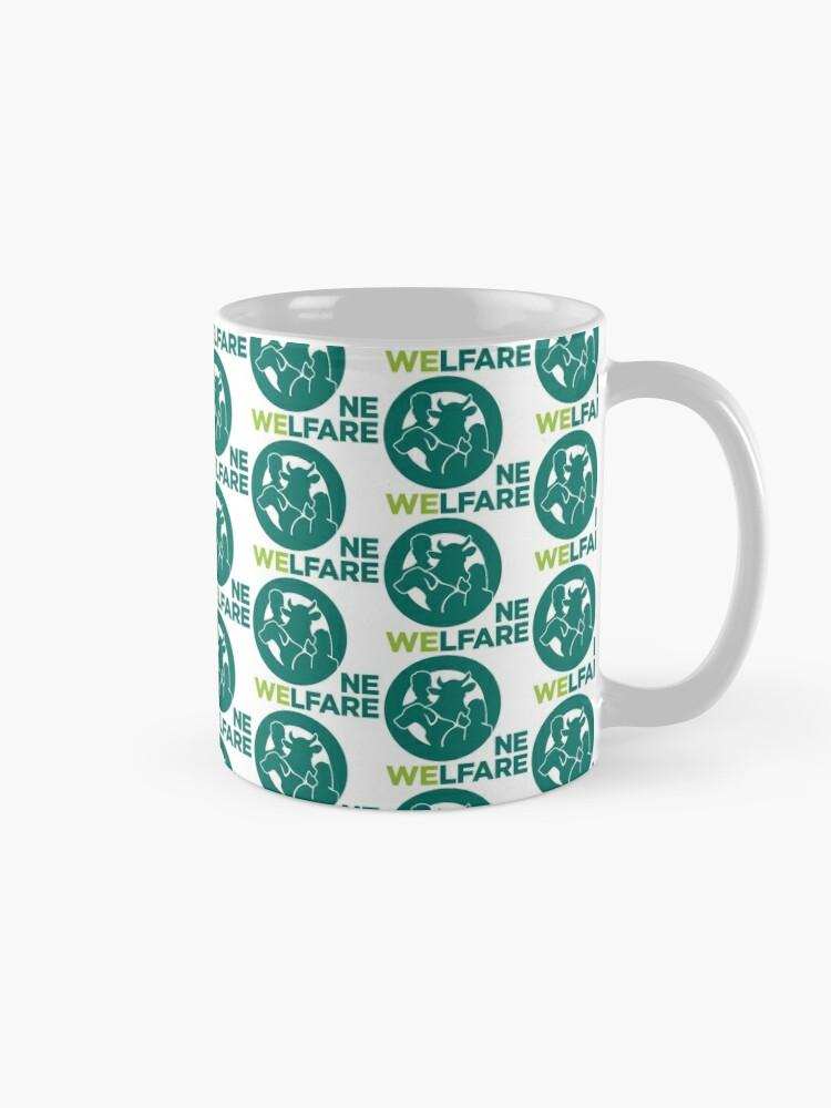 Alternate view of One Welfare Love Mug
