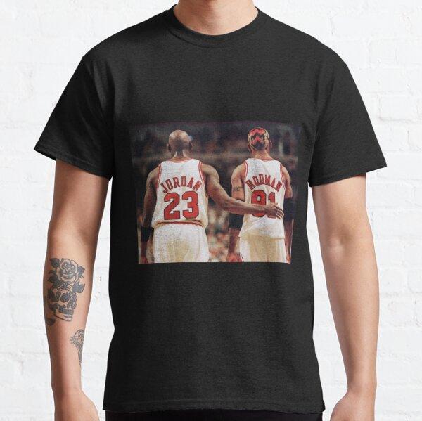 Michael Jordan and Dennis Rodman Classic T-Shirt