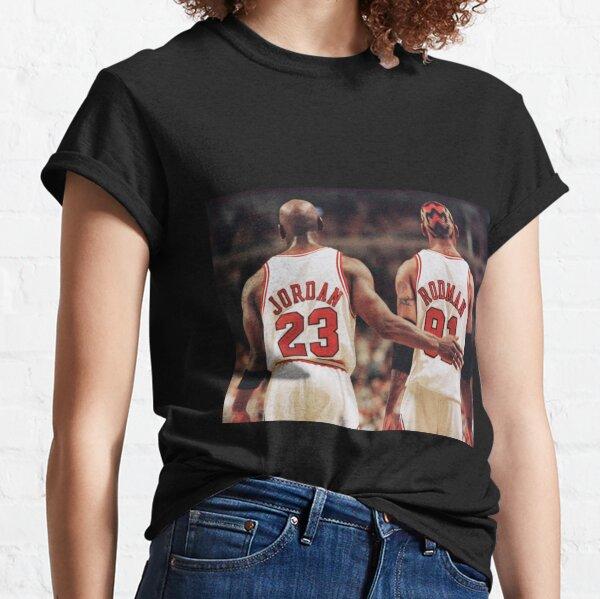 Michael Jordan y Dennis Rodman Camiseta clásica