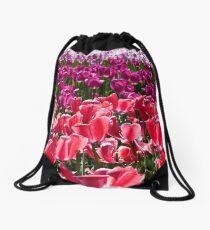 Tulips galore Drawstring Bag
