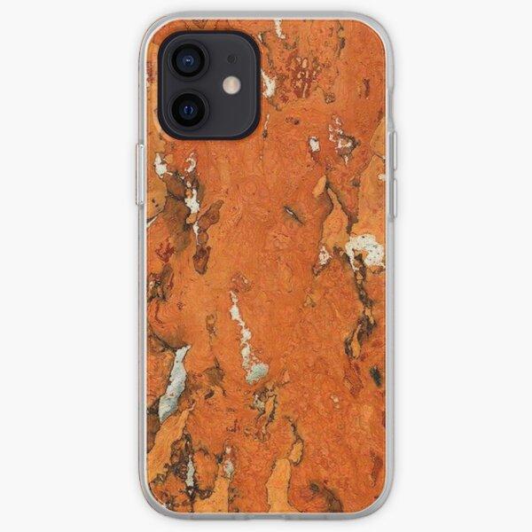 Cork brown Eco Friendly Funda blanda para iPhone