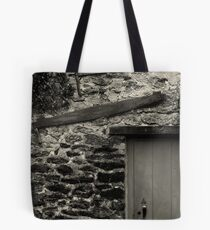 Two Saws and a Door  Tote Bag