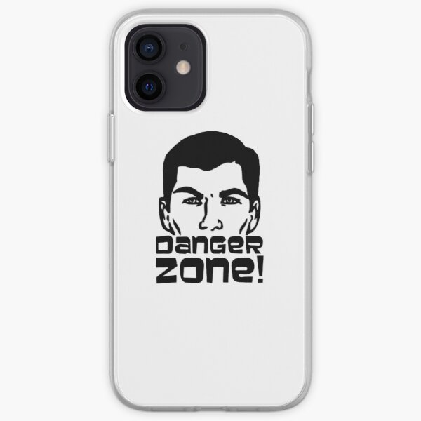 Sterling Archer - Danger Zone! iPhone Soft Case