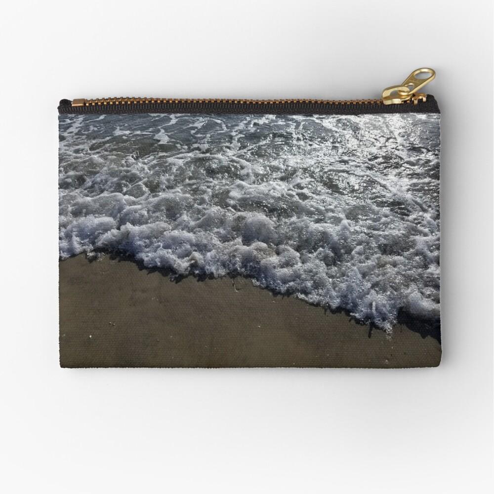 Ocean on the Beach Zipper Pouch