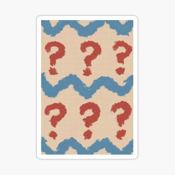 Seven pattern Sticker