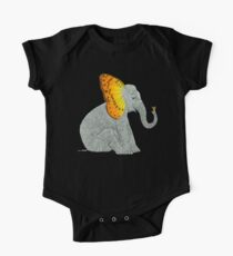 Elephant and Butterfly One Piece - Short Sleeve