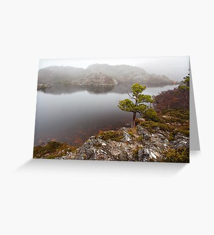 Twisted Lakes Greeting Card