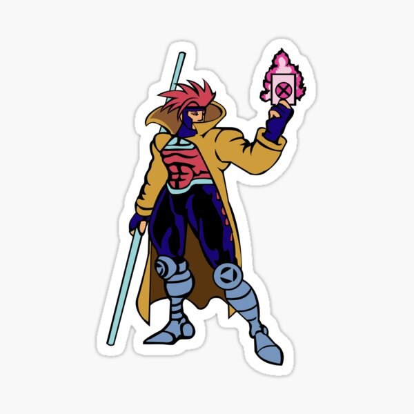Gambit MVC2 Sticker
