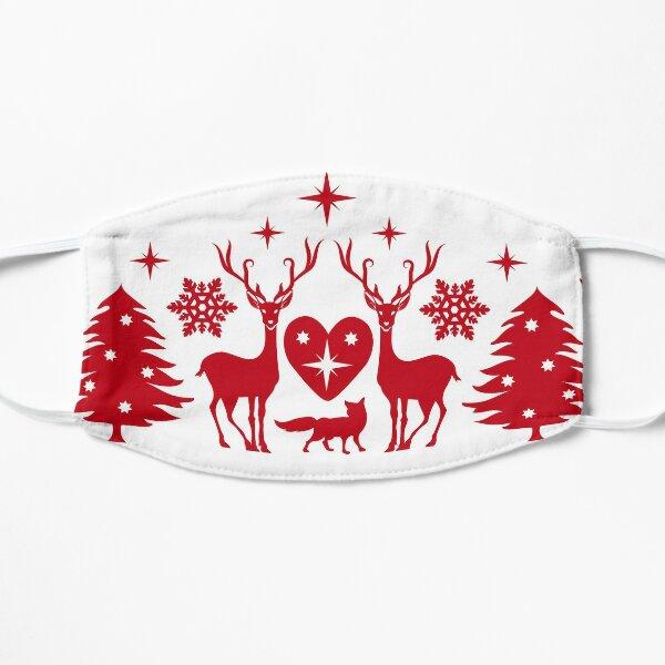 Folksy Christmas Mask