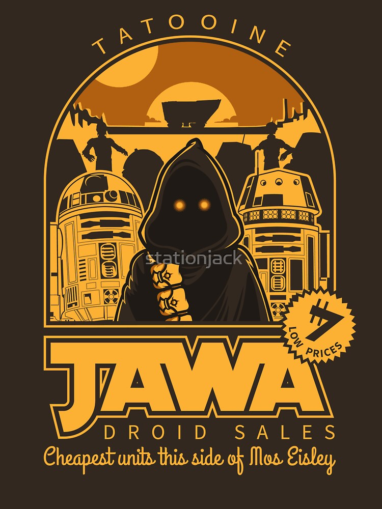 TShirtGifter presents: Jawa Droid Sales | Unisex T-Shirt