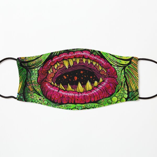 Swamp Creature Kids Mask