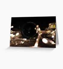 lens Greeting Card
