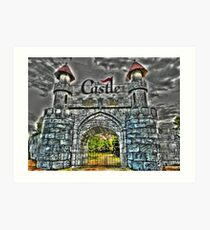 East Gate to The Castle Art Print