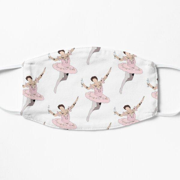 jumping ballerina harry Flat Mask