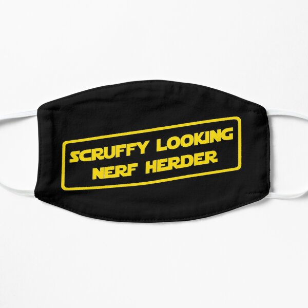 Who's Scruffy Looking? Mask