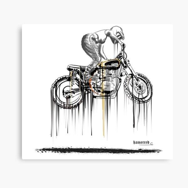 1504 TRIUMPH BONNEVILLE THE BULLITT Photo Poster Print Art Motorbike Poster