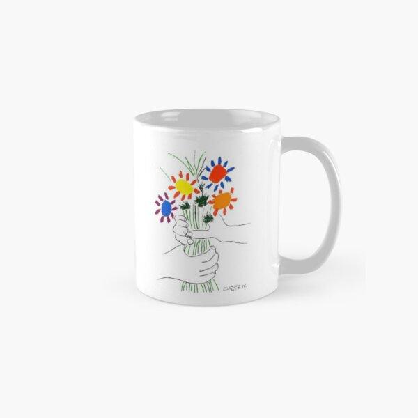 Pablo Picasso Bouquet Of Peace 1958 (Flowers Bouquet With Hands) or Le Bouquet de la Amitié (friendship) Classic Mug