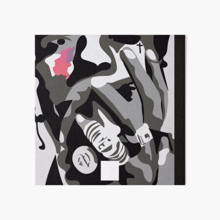 at long last asap minimal album cover Art Board Print