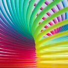 Rainbow Slinky 7 by Steve Purnell