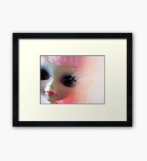 Delicate - cute doll photo Framed Print
