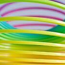 Rainbow Slinky 8 by Steve Purnell