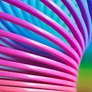 Rainbow Slinky 10 by Steve Purnell