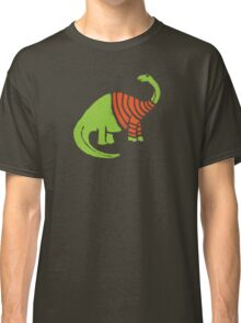 Brontosaurus in a Sweater  Classic T-Shirt