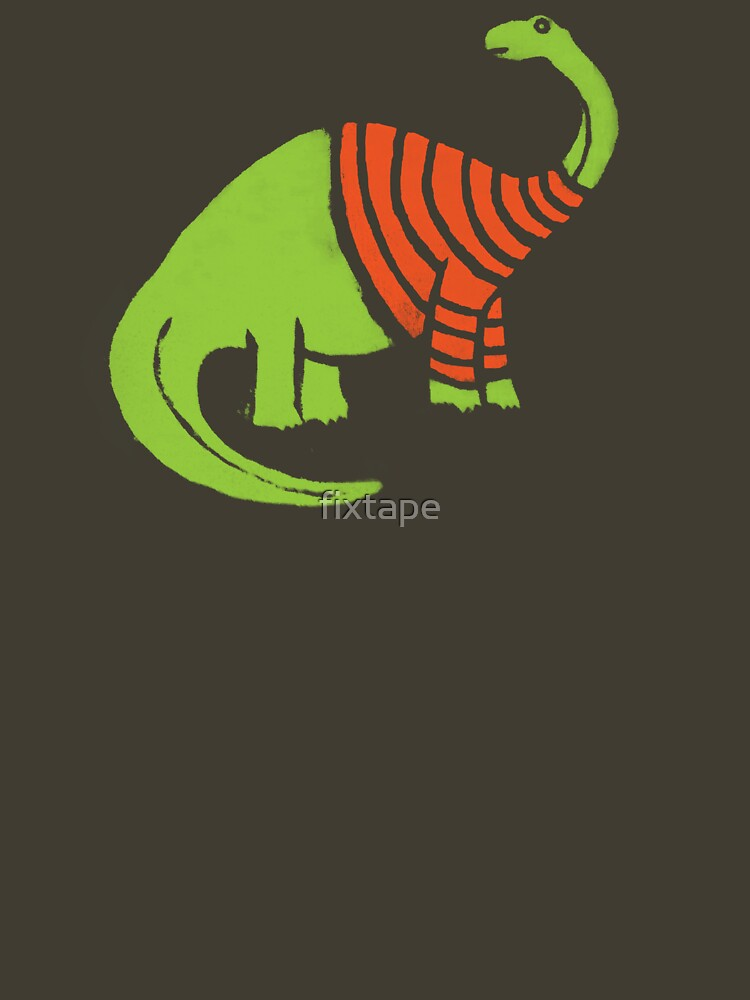 Brontosaurus in a Sweater  | Unisex T-Shirt