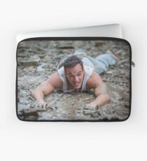 Dirty Model at Low Tide with John Laptop Sleeve