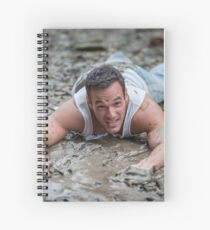 Dirty Model at Low Tide with John Spiral Notebook