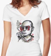 The Weird Turn Pro Women's Fitted V-Neck T-Shirt