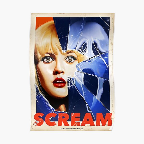 Scream Movie Poster Poster
