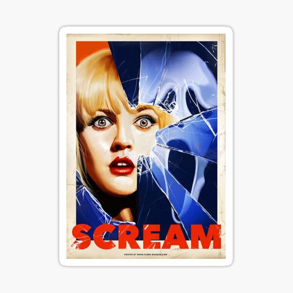 Affiche du film Scream Sticker