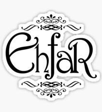 EHFAR Sticker