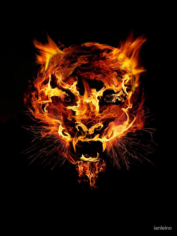 Tyger Tyger, Burning Bright by ianleino