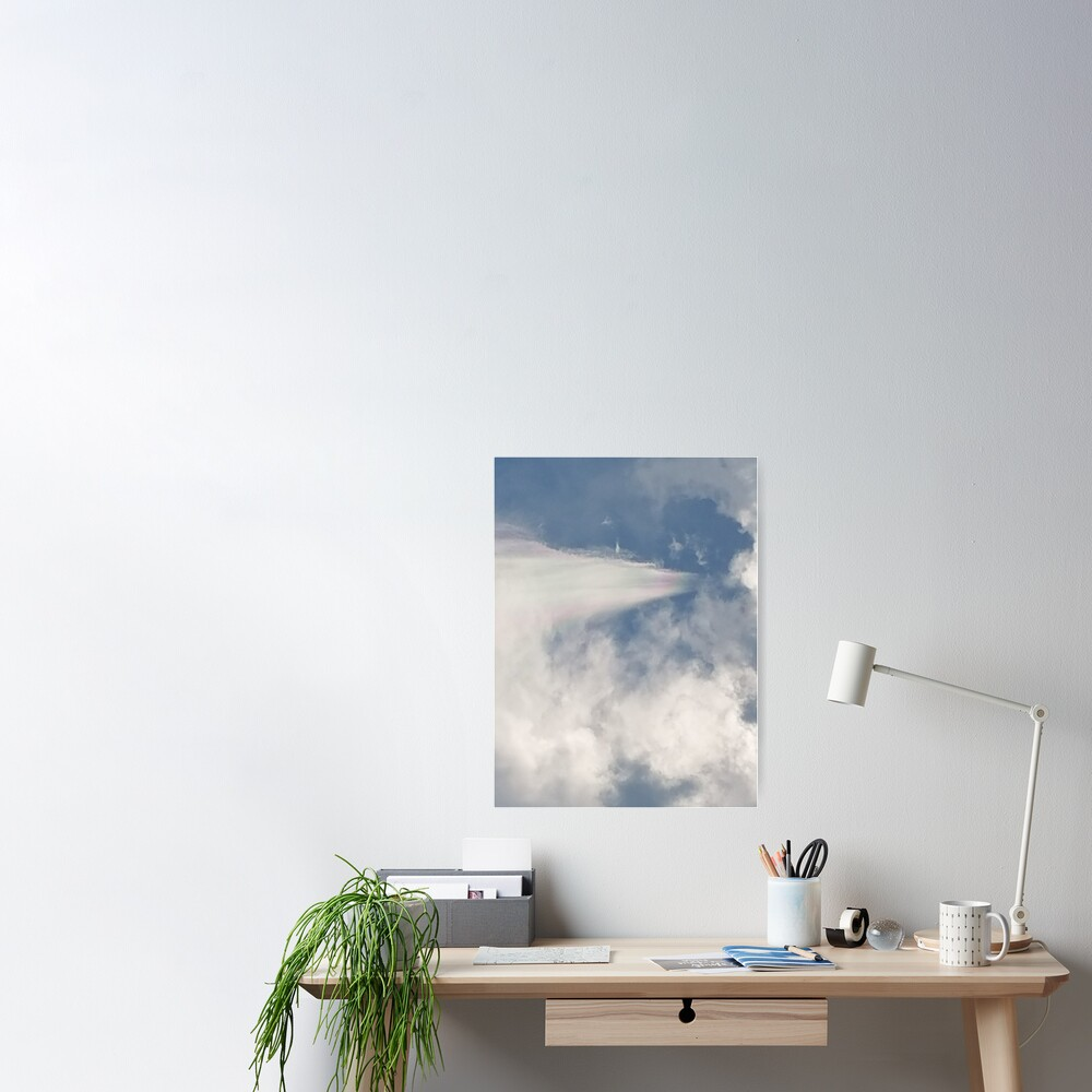 Cloud Iridescence Poster