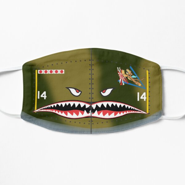 Flying Tigers AVG Badge Mask