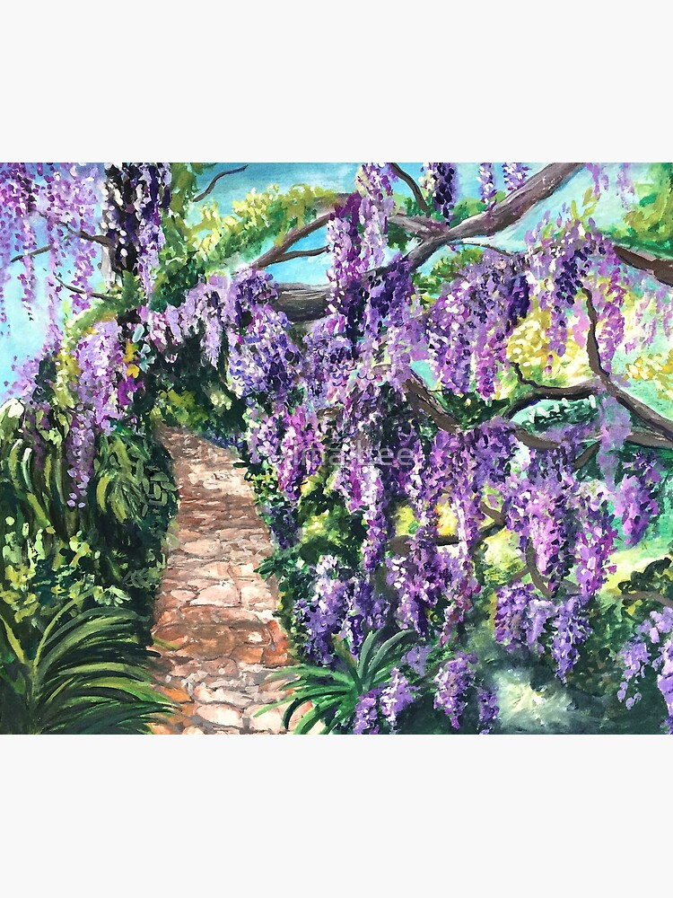 Wisteria Lane by almalee