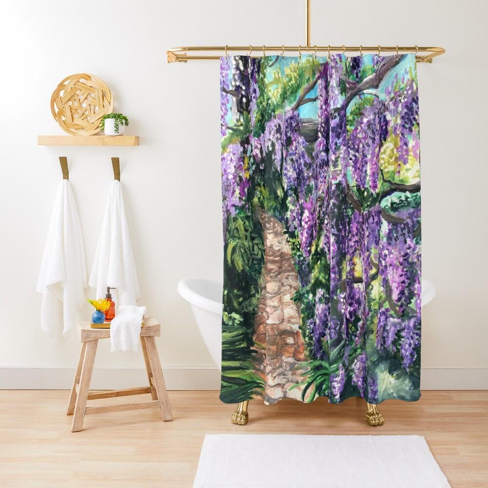 Wisteria Lane Shower Curtain